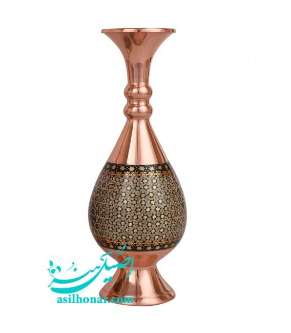 Khatamkari flower vase