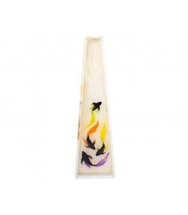 گلدان سنگی با نقاشی سه بعدی 2