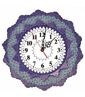 Isfahan minakari clock 30 cm