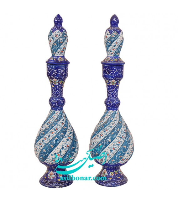 Isfahan minakari sake jug