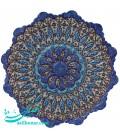 Minakari plate diameter 25 cm arabesque khatai designe