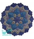 Isfahan minakari plate 30 cm arabesque khatai