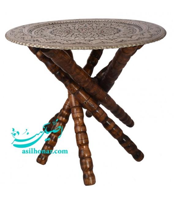 Ghalamzani round tray