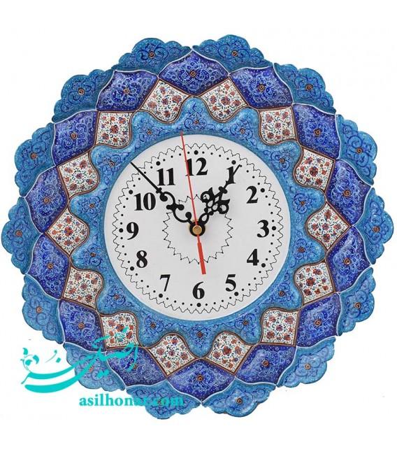 Minakari clock