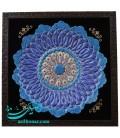 Tableau d'assiette en émail d'Ispahan 30 cm