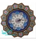 Khatamkari and mina clock 47 cm