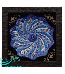 Minakari frame 20 cm arabesque khatai designe