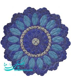 Minakari plate 30 cm perfect arabesque khatai designe