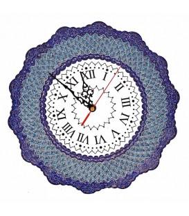 Minakari clock 30 cm