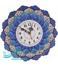 Minakari clock 30 cm with Tic tac Taiwan motor