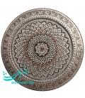 Ghalamzani copper round tray 40 cm