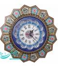 Khatamkari and minakari clock 47 cm