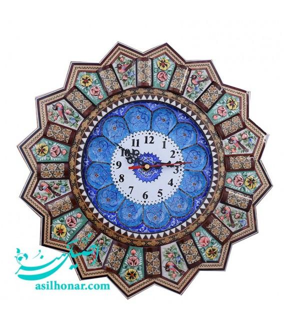 Clock 37 cm solar