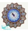 Khatamkari clock 37 cm
