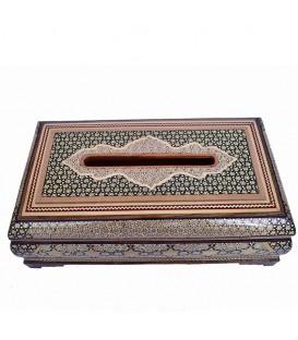 Khatamkari tissue box excellent