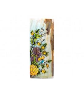 گلدان سنگی مکعبی 20 سانتیمتری