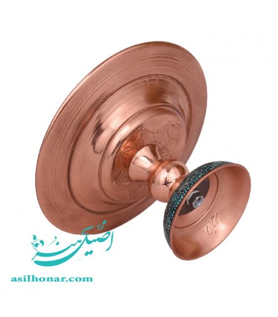 شیرینی خوری قطر 20سانتی فیروزه کوبی