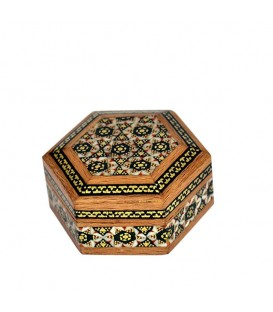 Khatamkari coin box