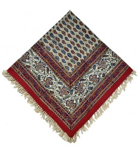 Ghalamkari tablecloth 1 m excellent red