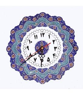 Minakari clock 25 cm
