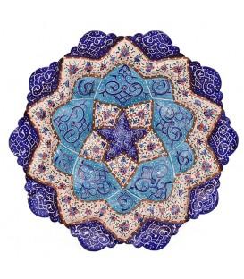 Minakari plate 16 cm