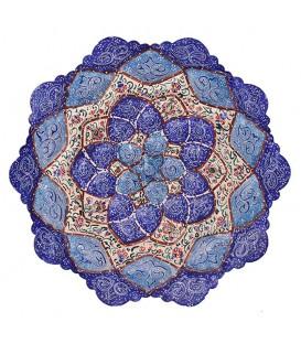 Isfahan minakari 16 cm plate
