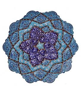 Isfahan minakari plate 16 cm