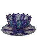 Minakari bowl and plate set 25 cm