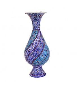 Minakari flower vase 16 cm arabesque