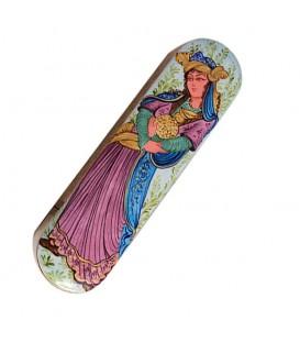 Khatamkari pen holders with Lili& Majnoon painting 4