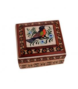 Khatamkari coin box with painting