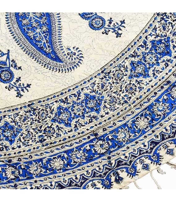 Ghalamkari round tablecloth