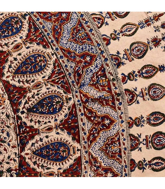 Ghalamkari round tablecloth