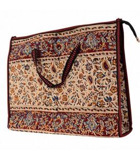 Ghalamkari bag almond design
