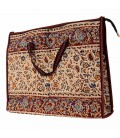 Ghalamkari bag almond design