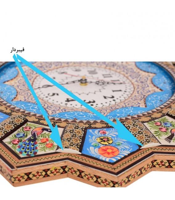Khatamkari clock 48 cm